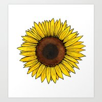 friday Art Prints featuring Friday by Virginia Skinner