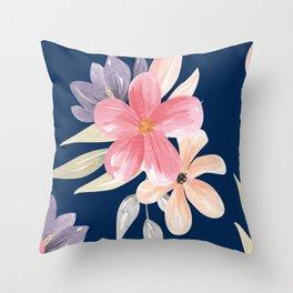 Floral prints Throw Pillow