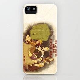 The Avenger Horror Picture Show iPhone Case