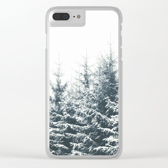 In Winter Clear iPhone Case