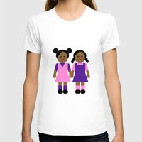 sisters T-shirts featuring Sisters by Leslie S. Alexander