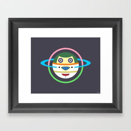 Spaceman 1 Framed Art Print