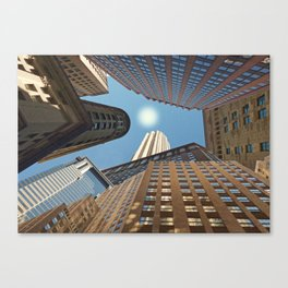 At its Zenith - New York Canvas Print