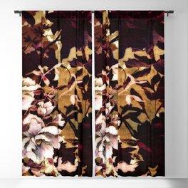Tropical Blaze Floral Print Blackout Curtain