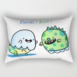 Dinoghost! Rectangular Pillow