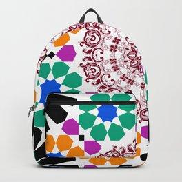 full color mandala Backpack