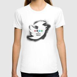 PUNK YOUR SOCIAL MEDIA T-shirt