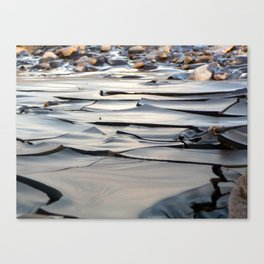 River of Clay Canvas Print