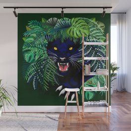 Black Panther Jungle Spirit Wall Mural