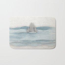 Floating Ship Bath Mat