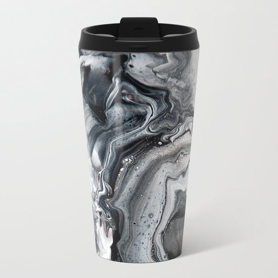 Marble in the Water Metal Travel Mug
