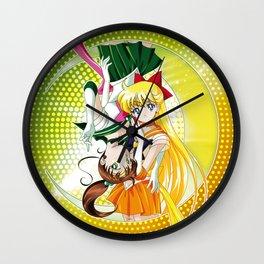 Sailor Moon Super S - Jupiter & Venus Crystal Power! Wall Clock