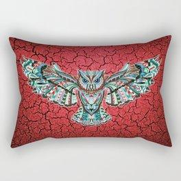 Colorful Owl Pattern Rectangular Pillow