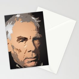 Portrait of Lee Marvin Stationery Cards