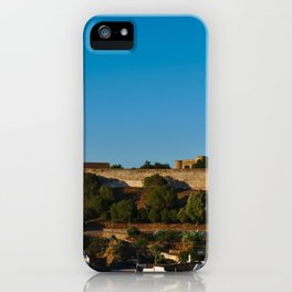 Castle of Castro Marim from the hill iPhone Case