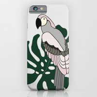 Tropical Parrot iPhone 6s Slim Case