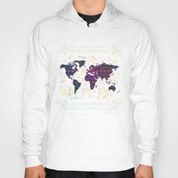 map Hoodies featuring Map by famenxt