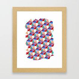 PPPattern PINK Framed Art Print