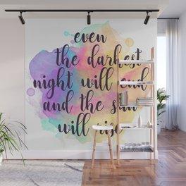 Darkest Night Wall Mural