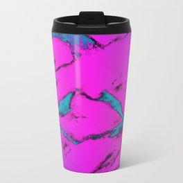 Fractured anger pink Travel Mug