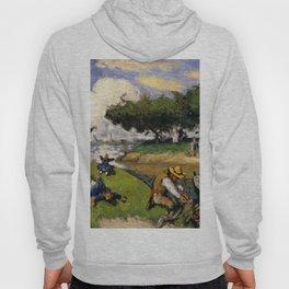 """Paul Cezanne """"The Fishermen (Fantastic Scene)"""" Hoody"""