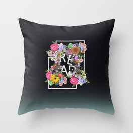 Read, just read Throw Pillow