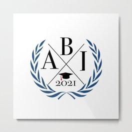 Abi 2021 Graduation AK21 Metal Print