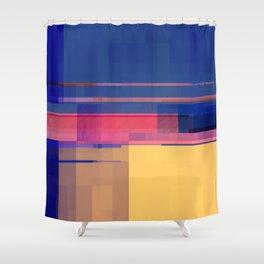 elton somethin' Shower Curtain