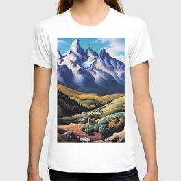 American Masterpiece 'The Sheep Herder' by Thomas Hart Benton T-shirt