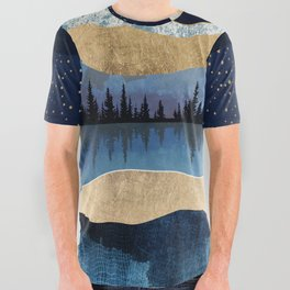 Midnight Lake All Over Graphic Tee
