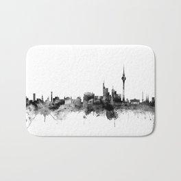 Berlin Germany Skyline Bath Mat