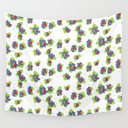 naive flowers pattern Wall Tapestry