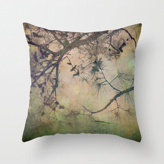 One Autumn Day Throw Pillow