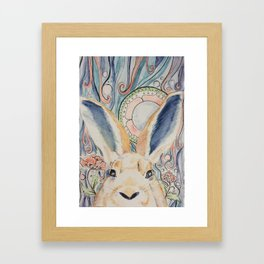 Bunny Moon Framed Art Print