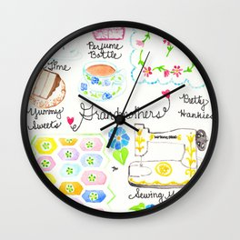 Grandmothers Wall Clock