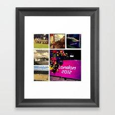 Olympic Memories Framed Art Print