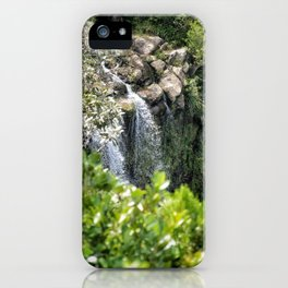 Black river gorges national park iPhone Case