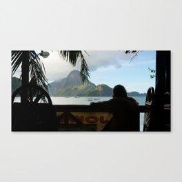 watching Canvas Print