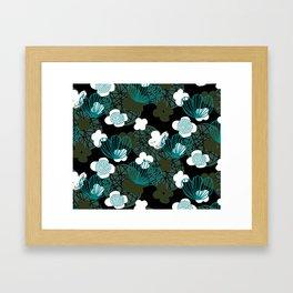 Kokedama Garden M+M Greens by Friztin Framed Art Print