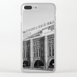 Grand Central Station, Chicago, Illinois.1963 Clear iPhone Case