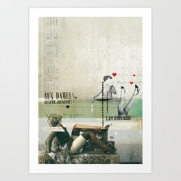 Beauté & Jeunesse Art Print