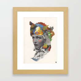 Mother of Invention Framed Art Print