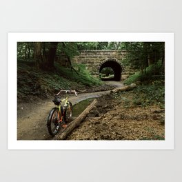 Exploring/ Under the Bridge Art Print