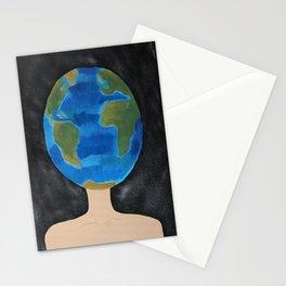 Thinking Globally phone case  Stationery Cards