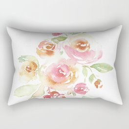 Sweet Roses Rectangular Pillow