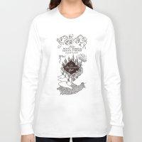 marauders Long Sleeve T-shirts featuring MARAUDERS MAP by ThreeBoys