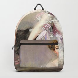 Giovanni Boldini - Portrait of Anna Elisabeth Hansen - Digital Remastered Edition Backpack
