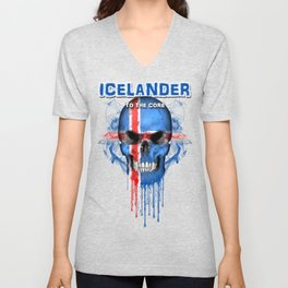 To The Core Collection: Iceland Unisex V-Neck
