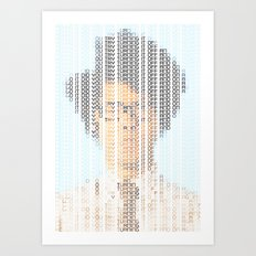 The IT Crowd Art Print