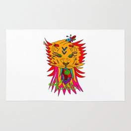 wizard lion Rug